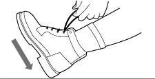 Aantrekken schoenen